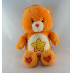 Bisounours chantant orange étoile Grosourire CARE BEARS