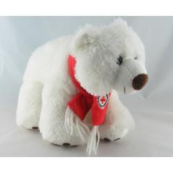 Doudou ours polaire blanc YVES ROCHER