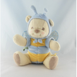 Doudou Ours déguisé en Abeille Nature Bearries de Fisher Price