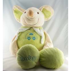 Doudou souris verte voiture BABY PLAYKIDS