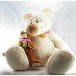 Doudou poupée chiffon rose LOGITOYS