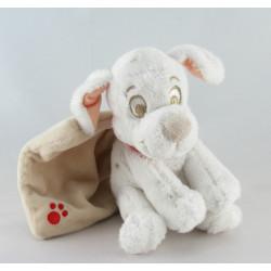Doudou chien dalmatien mouchoir couverture DISNEY NICOTOY