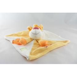 Doudou chien jaune orange KIABI