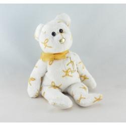 Doudou chien écru beige TY TYLUX