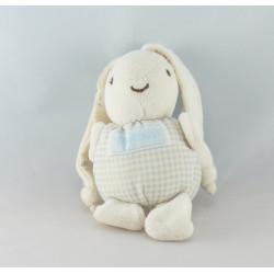 Doudou lapin blanc nounours