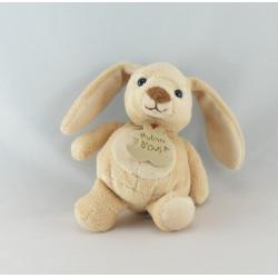 Doudou lapin blanc nez rose HISTOIRE D'OURS