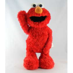Peluche parlante Elmo ça chatouille rue sésame TYCO