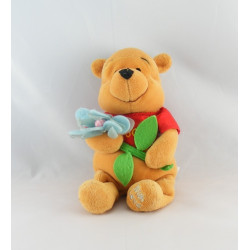Doudou  Winnie l'ourson allongé Disney