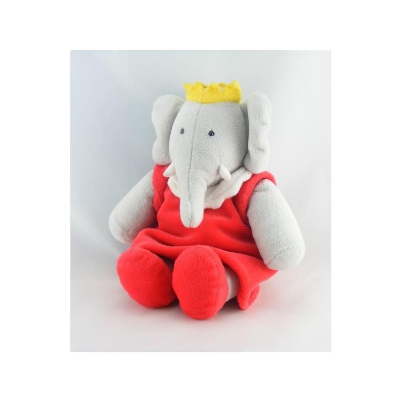 Peluche Céleste l'amie de Babar l'éléphant LANSAY