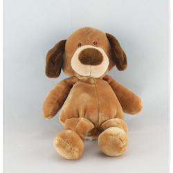 Petit Doudou chien beige marron NICOTOY