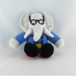 Peluche Babar l'éléphant LANSAY