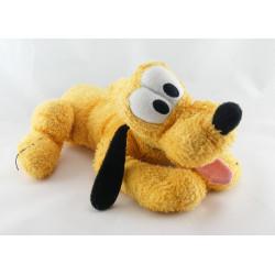 Doudou chien Pluto collier vert DISNEY NICOTOY 20 cm