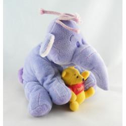 Doudou éléphant Lumpy avec singe DISNEY NICOTOY