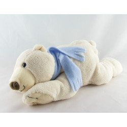 Doudou ours rouge FRANCE LOISIRS