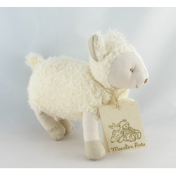 Doudou mouton la grande famille MOULIN ROTY 21 CM