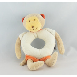 Mini Doudou singe orange les loustics MOULIN ROTY