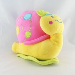 Doudou ours bleu rose jaune formes Dodo d'amour MGM