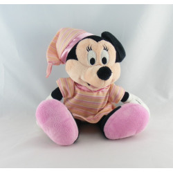 Peluche Minnie robe jaune raquette tennis Disney