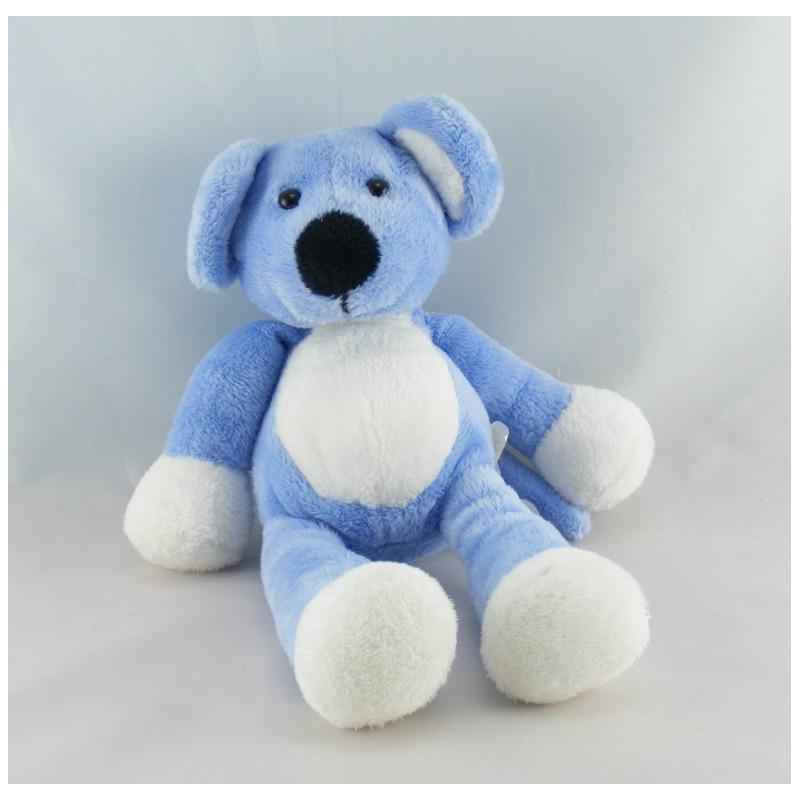 Doudou souris bleu Nicotoy