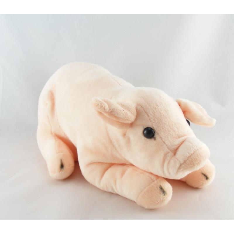 Doudou cochon rose VERTBAUDET