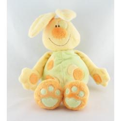Doudou lapin orange étoile KIABI BEBE