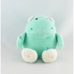 Doudou hippopotame bleu rose TIGEX