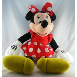 Peluche Minnie robe rouge à pois DISNEYLAND