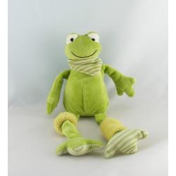 Doudou grenouille aux longues pattes LES PETITES MARIE