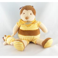 Doudou et compagnie abeille bourdon Ponpon