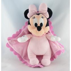 Doudou souris rose Baby Minnie DISNEY BABY