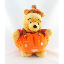 Peluche Winnie citrouille Halloween Collection Disney