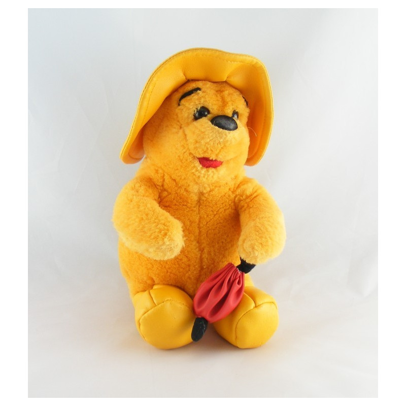 Peluche Winnie l'ourson en veste rouge Disney