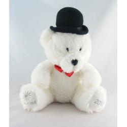 Doudou ours blanc écru NOCIBE 2003