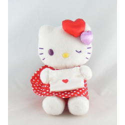 Peluche chat HELLO KITTY rose sac SANRIO LICENSE
