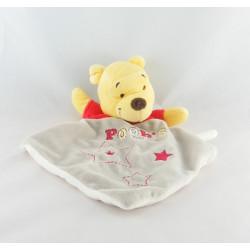 Doudou plat Winnie l'ourson étoiles brodées DISNEY BABY