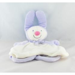 Doudou plat marionnette bonhomme de neige clown KIABI