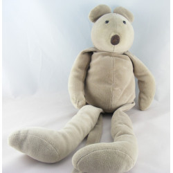 Doudou souris grise Grande famille MOULIN ROTY