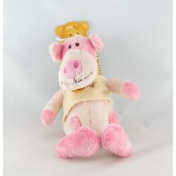 Doudou semi plat cochon rose Funny BABY NAT Neuf