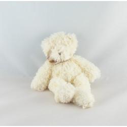 Doudou ours blanc beige DIMPEL