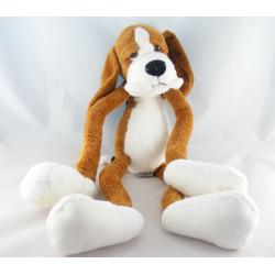 Doudou chien gris blanc RUSS BERRIE