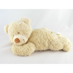 Doudou musical ours pull capuche vert NICOTOY