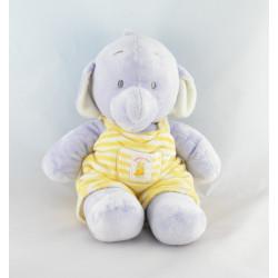 Doudou bébé éléphant mauve HUMPHREY'S CORNER