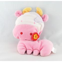 Doudou Poupée rose hochet Corolle