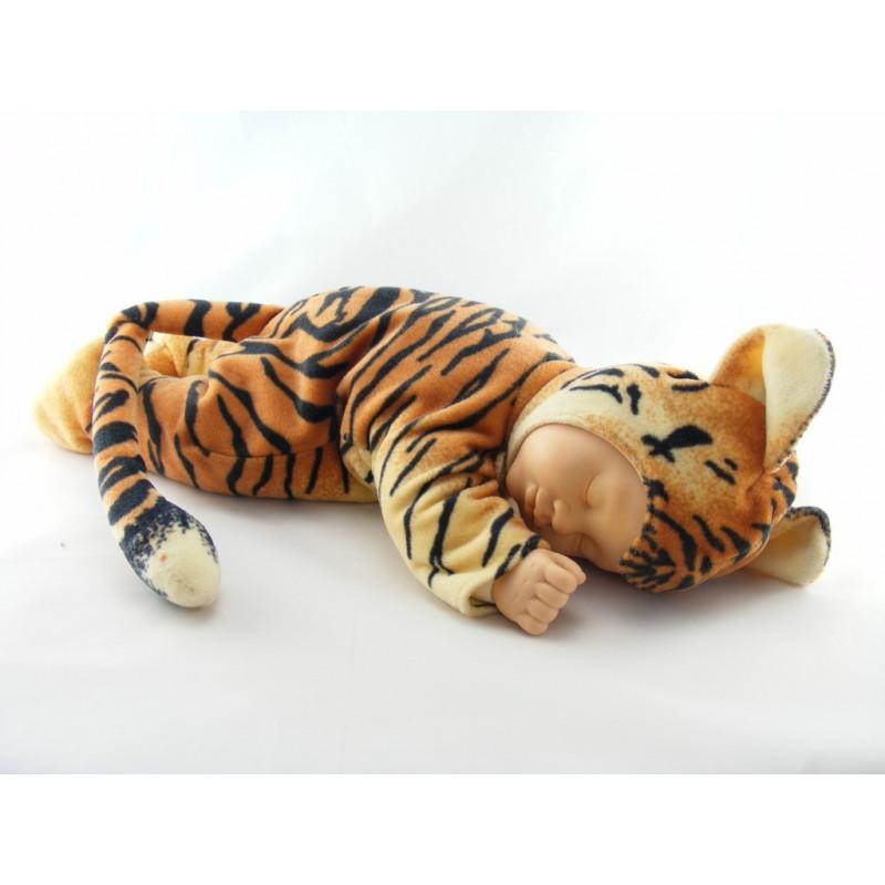 Poupée bébé tigre ANNE GEDDES 40 cm