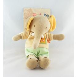 Doudou éléphant les Loustics MOULIN ROTY