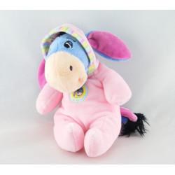 Doudou Bourriquet pyjama bonnet rose DISNEY NICOTOY