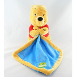 Doudou Winnie l'Ourson avec mouchoir Disney Baby