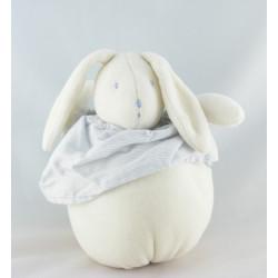 Doudou lapin ecru la bande à basile MOULIN ROTY