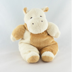 Doudou hippopotame écru beige FOMAX