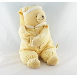 Doudou ours jaune sons utérins et musical DOODOO